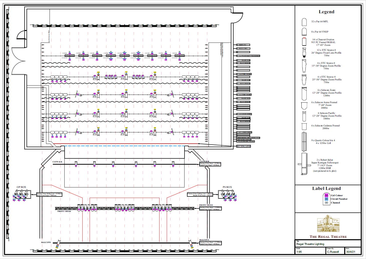 Arts Theatre Seating Plan Adelaide